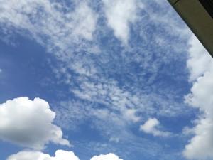 台風一過秋の空B270826